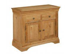 Cotswold Small Oak Sideboard 2 Door 2 Drawer