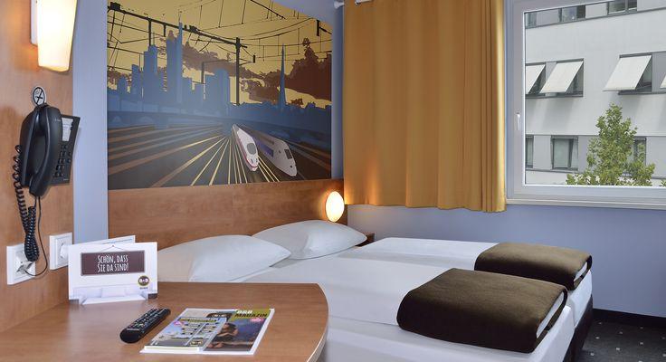 Zweibettzimmer im B&B Hotel Saarbrücken-Hbf