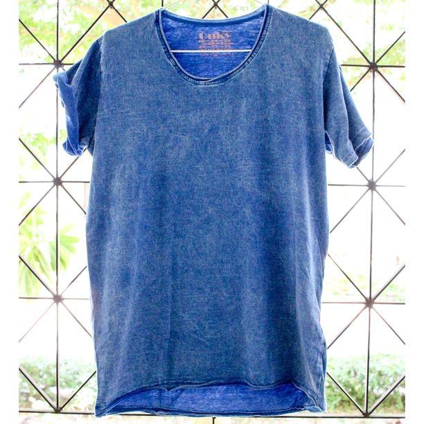 ビンテージ Tシャツ Lサイズ マリンブルー画像1
