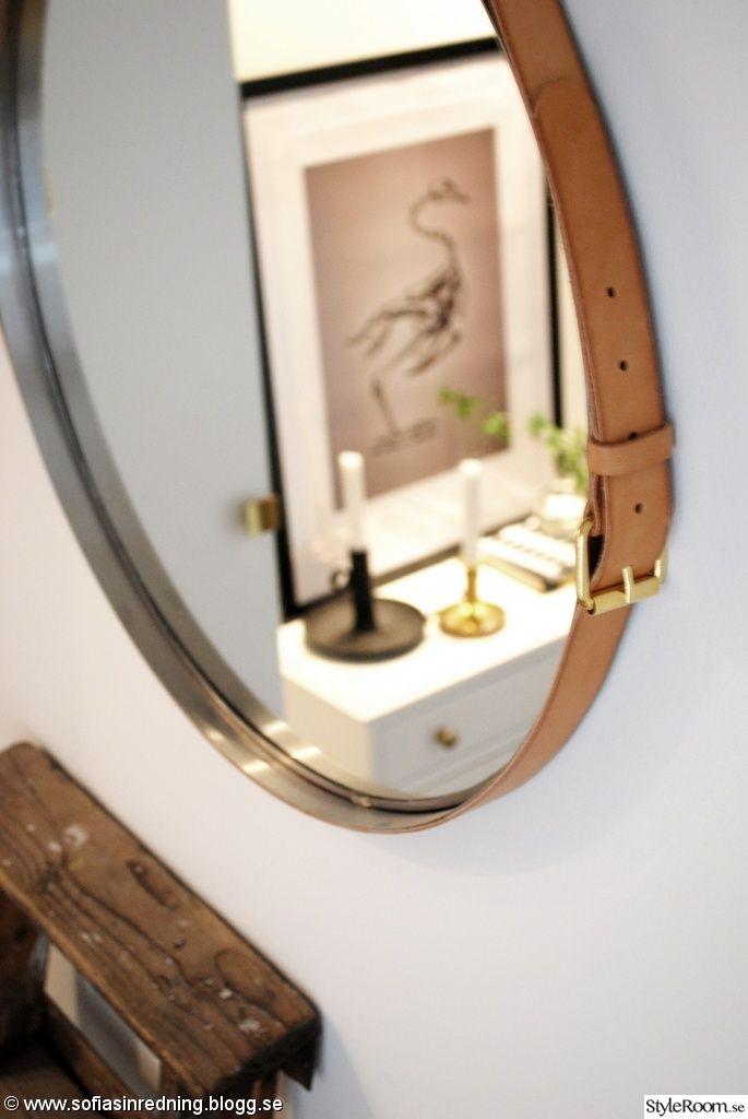 diy,spegel IDEA: Peili+K.nahkaa?