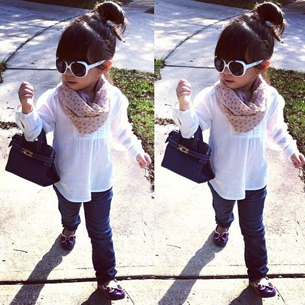 #kids #fashion #style #baby #toddler #cute #jeans #scarf #swag #inspiration #clothes #pretty