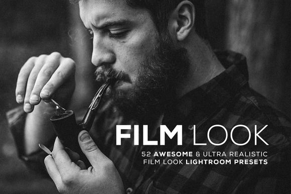 Film Look - Lightroom Presets by Hydrozi on @creativemarket