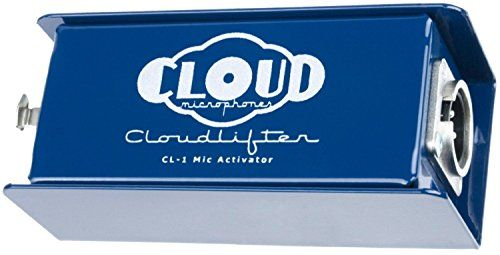 Cloud Microphones CL-1 Cloudlifter 1-channel Mic Activator (Certified Refurbished)  This Certified Refurbished product is tested & certified to look and work like new. The product includes all original accessories and is backed by a 90-day warranty.  Uses phantom power to give passive mics (mainly used for dynamic and ribbon mics) up to +25dB without passing phantom power on to mic.  Easy to use self contained design requires only phantom power to work. **Does not use phantom power to ...
