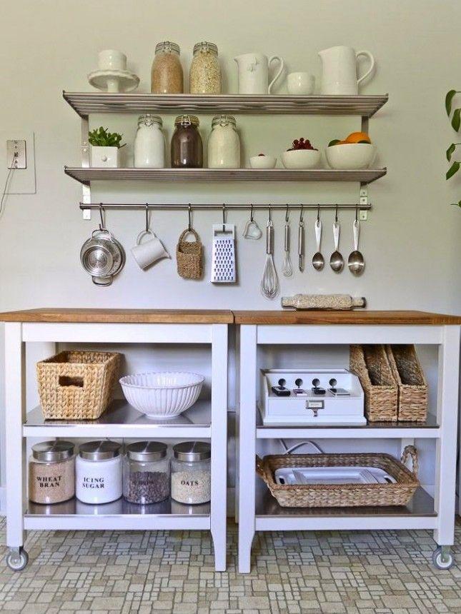 Best 25+ Ikea kitchen shelves ideas on Pinterest Kitchen shelves - open kitchen shelving ideas