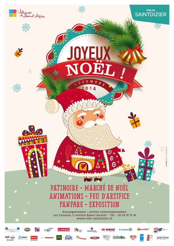 Top affiche des animations de nol saintdizier with foire for Foire de saint dizier