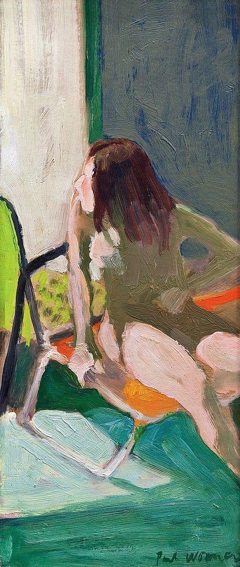 Paul Wonner, Model in the Sun, 1964 on ArtStack #paul-wonner #art