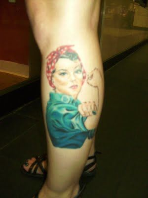 Rosie the Riviter!!!! Gonna get this one day!