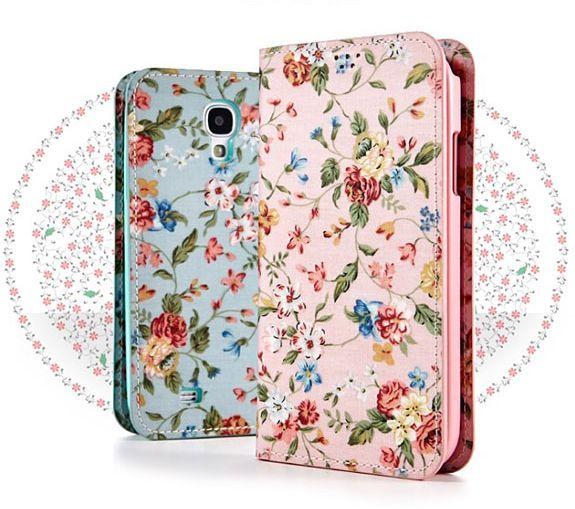 Antique Flower Premium Fashion Flip Case for LG Optimus L9