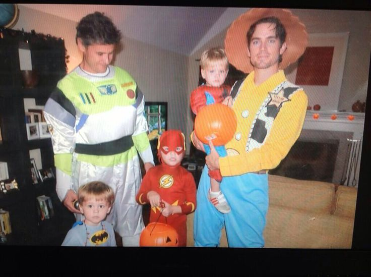 Matty B and the family Halloween pic 2 years ago! So cute ...