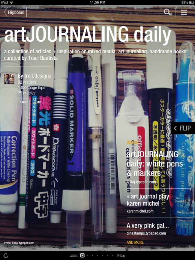 artJOURNALING daily magazine by traci bautista