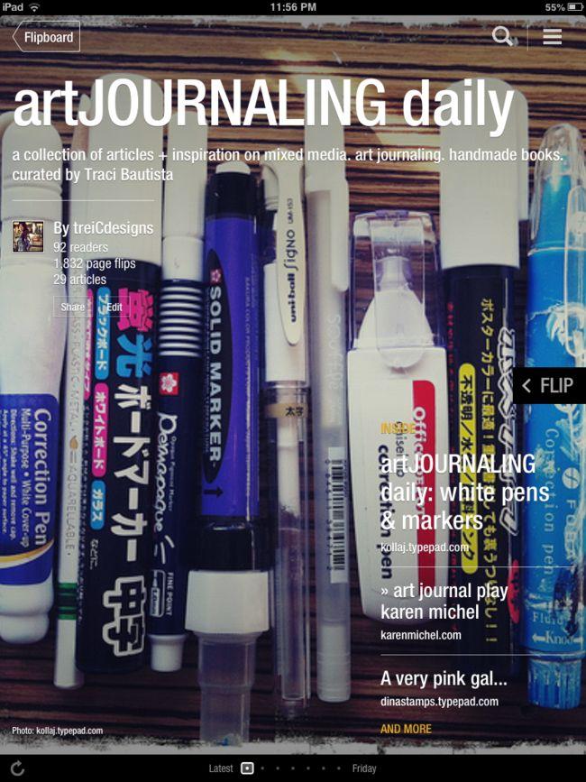 artJOURNALING daily magazine by traci bautista