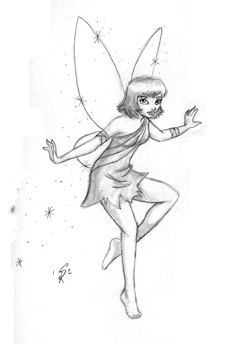 Fairy (Drawn on TN Trip) by ~gingersketches on deviantART ...