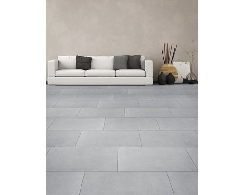 feinsteinzeug bodenfliese vega grigio 30x60 cm fu b den. Black Bedroom Furniture Sets. Home Design Ideas