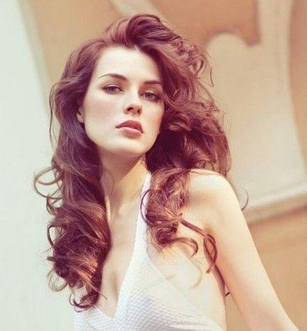 Big Messy Curls-