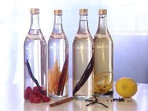 various vodka infusions .... says store in fridge but it can also be stored in the freezer, will NOT freeze.