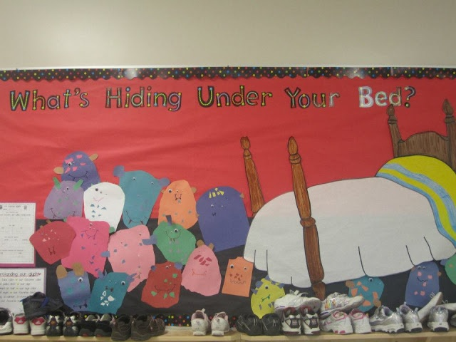 Becoming Martha: Class Bulletin Boards