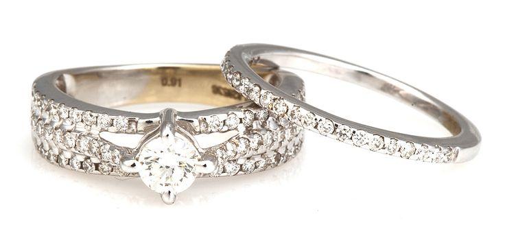 Perfect wedding ring set