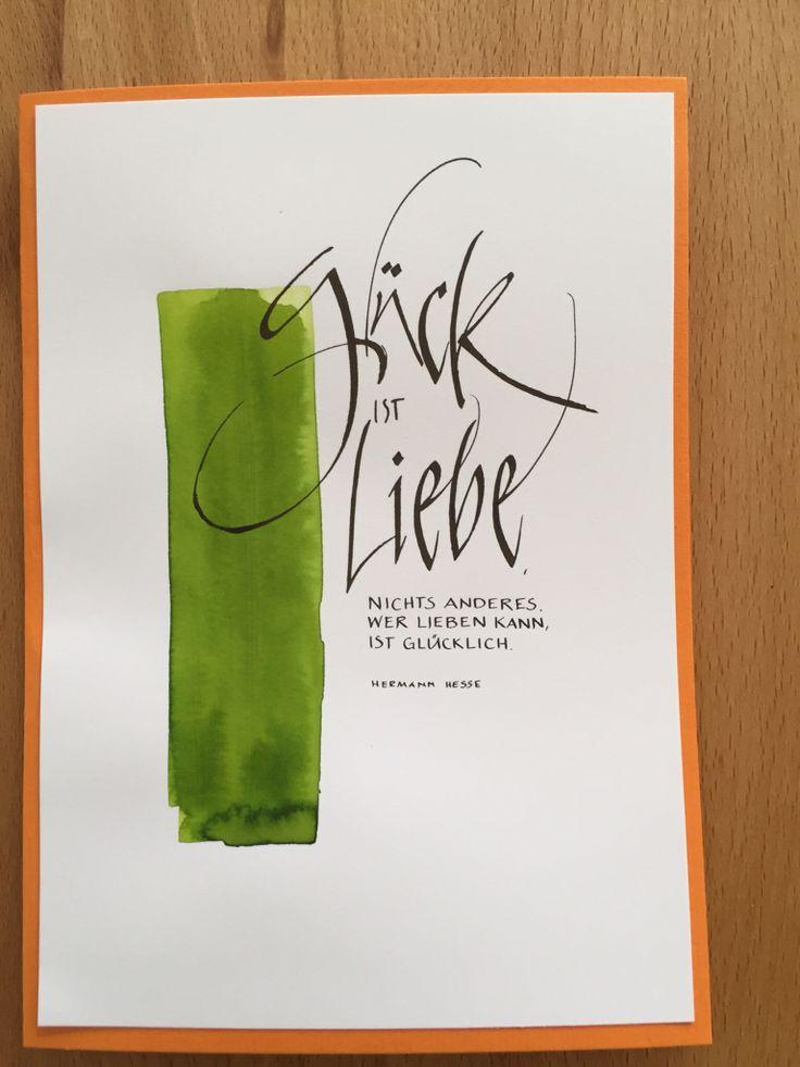 Kalligraphiekarte                                                                                                                                                                                 Mehr