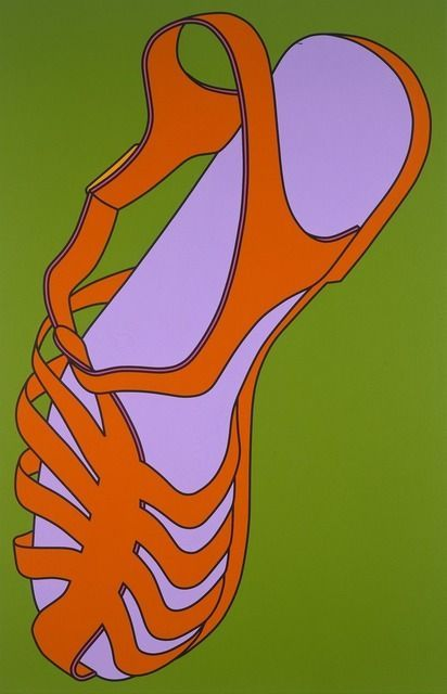 Michael Craig-Martin. Sandal, 2002.