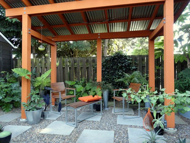 23 Best Images About Pergola With Roof On Pinterest More