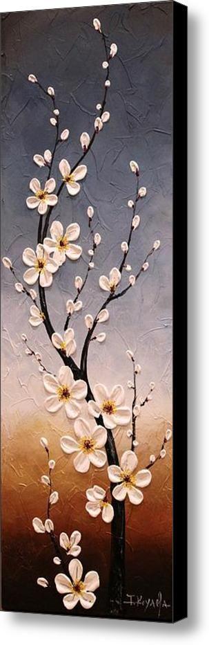 Cherry Blossoms Canvas Print / Canvas Art By Tomoko Koyama