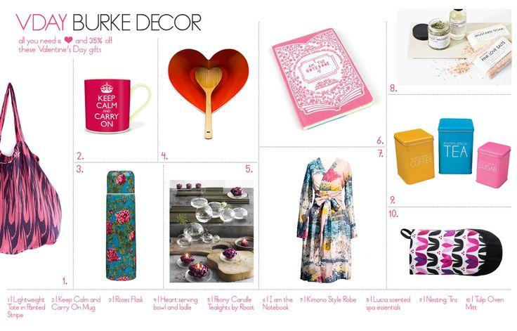 Detailed decorum vday with burke decor stylyzeit for Decor and decorum