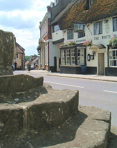 Sturminster Newton, Dorset, is situated at a historic fording point on the Stour. The town was recorded in the Anglo Saxon charter in 968 as Nywetone at Stoure, and in the Domesday Book as Newentone.