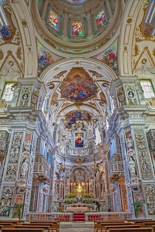 606 best images about baroque architecture italy on for Italian baroque architecture