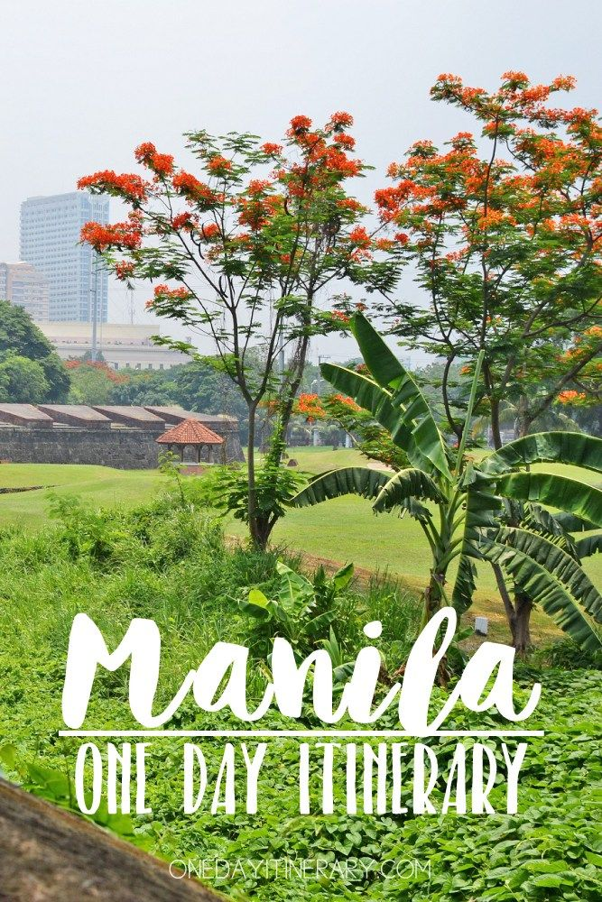 Manila, The Philippines - One day itinerary