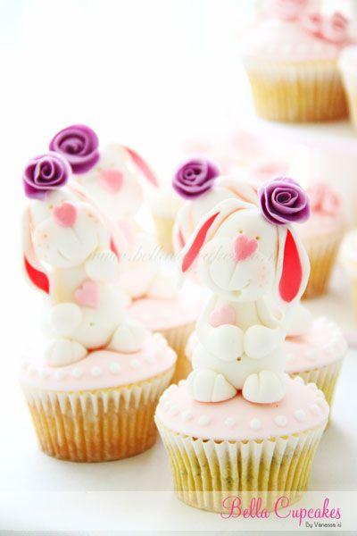 Bunny Cupcakes: Bunny Cupcakes, Sweet, Cupcakes Decor, Cakes Cupcakes, Food Cake Cupcakes, Easter Cupcakes, Bunnies, Photo, Bella Cupcakes