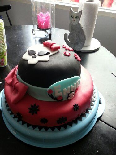 Monster High inspired cake