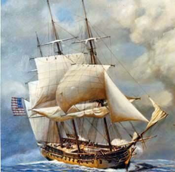USS Constellation - Original six frigates of the United States Navy - Wikipedia, the free encyclopedia