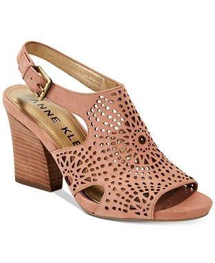Dusty rose Anne Klein, Women ladies sandals - Macy's