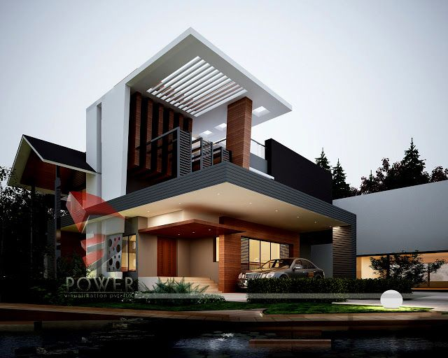 contemporary home design modern house design 3d home design villa design house exterior design house exteriors exterior houses interior exterior - Home Design In India