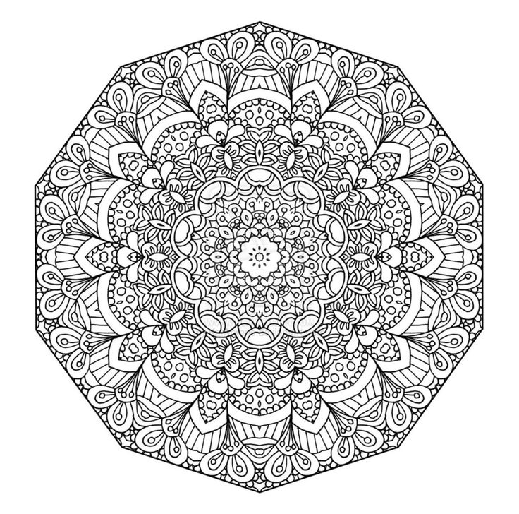 these printable mandala and abstract coloring pages relieve stress and help you meditate higher perspectives