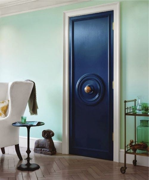 sadie + stella: Monday Musings: Doors on the Interior