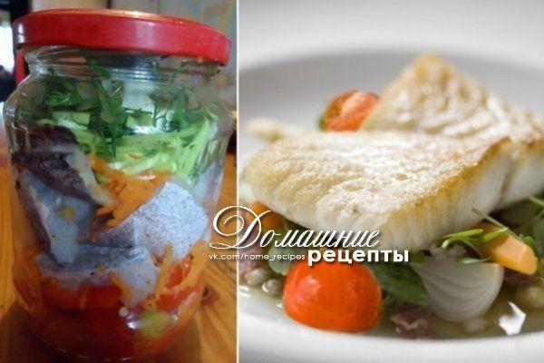 Эта рыбка в банке - умопомрачительного вкуса. | Наша кухня - рецепты на любой вкус!