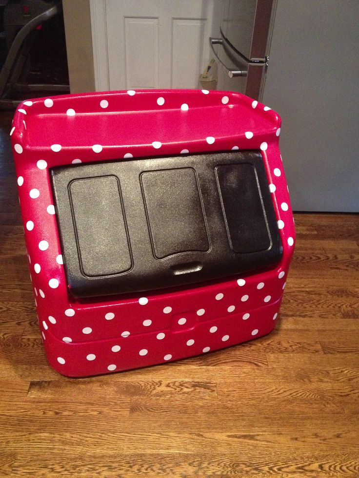 Minnie Mouse Toybox Diy