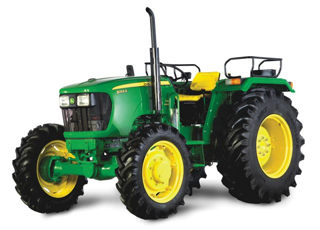5055 E 4WD JOHN DEERE 5055 E 4WD             5055 E 4WD Tractor has the comfort and convenience features to keep you smiling even during the longest days; the engine power and hydraulic capacity to... More click http://www.agromachinery1.com/john-deere-5055-e-4wd/