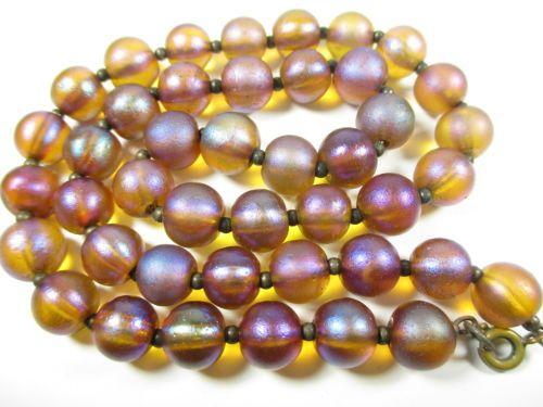 WMF Myra Glasperlen Collier Vintage Kette 30er 40er Halskette U90 N4 in Antiquitäten & Kunst, Antikschmuck, Schmuck & Accessoires, Ketten, Sonstige | eBay<999Euro