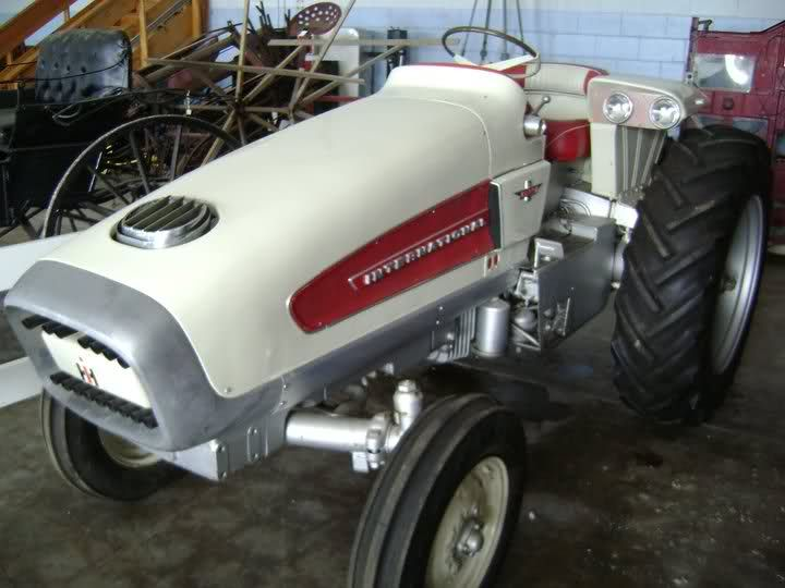 International Harvester HT-341 Turbine Tractor.
