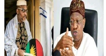 The Minister of Information and Culture Alhaji Lai Mohammed has said that the leader of the Indigenous People of Biafra IPOB Mazi Nnamdi Kanu is not being held by the Nigerian Federal government.  Leader of the Indigenous People of Biafra IPOB Mazi Nnamdi Kany & The Minister of Information and Culture Alhaji Lai Mohammed This is coming just many days after the Nigerian army clashed with IPOB in Umuahia Abia state after it launched a military exercise tagged Operation Egwu Eke II or Operation…