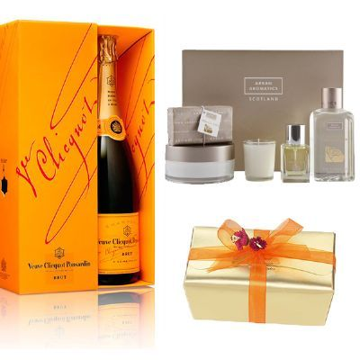 View Veuve Clicquot Champagne, Chocolates & Relaxation