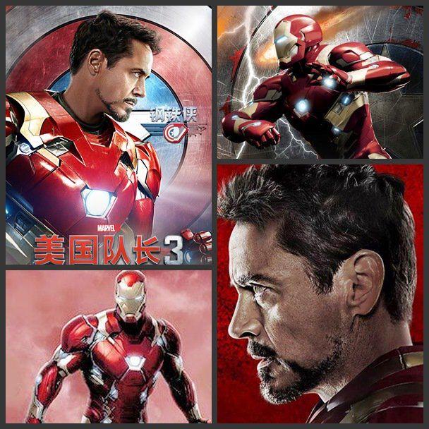 Tony Stark Iron Man films photos