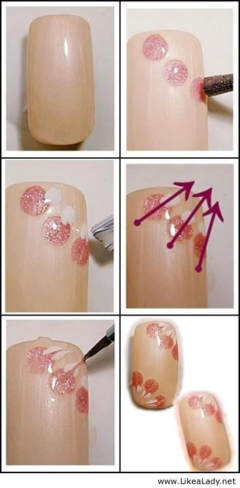 Simple nail art tutorial.