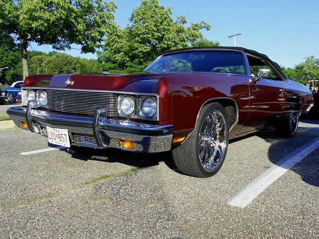 https://flic.kr/p/sCqo7g | 1973 Chevy Caprice Classic Convertible | Lost in the 50s Cruise Night, Marley Station Mall, Glen Burnie, MD, May 23, 2015.