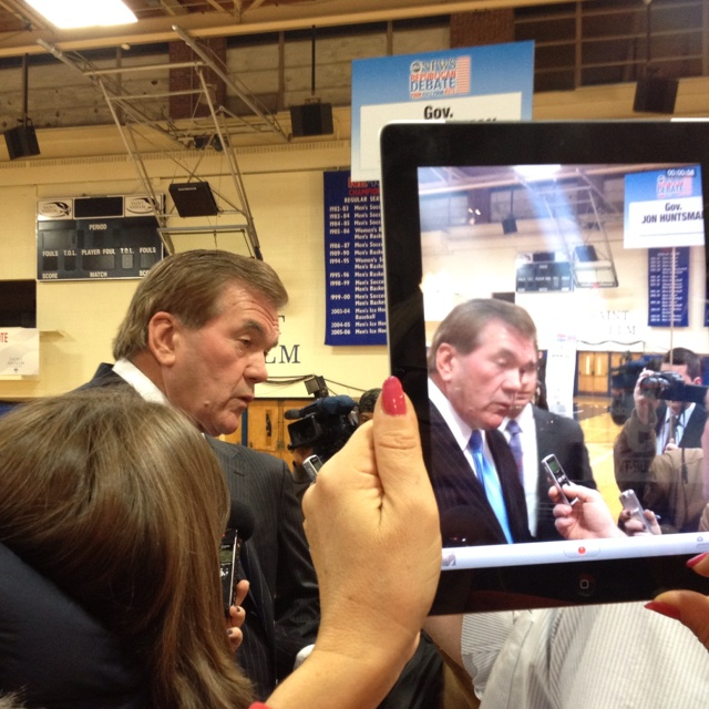 Gov Tom Ridge spinning for Huntsman