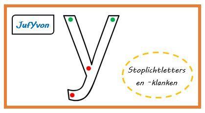 Stoplichtletters. Laat aan de kinderen zien dat je bij groen begint, je gaat door bij oranje en stopt bij rood (net als een stoplicht). Plastificeer deze bladeren en laat ze met een whitebordstift deze letter overtrekken.