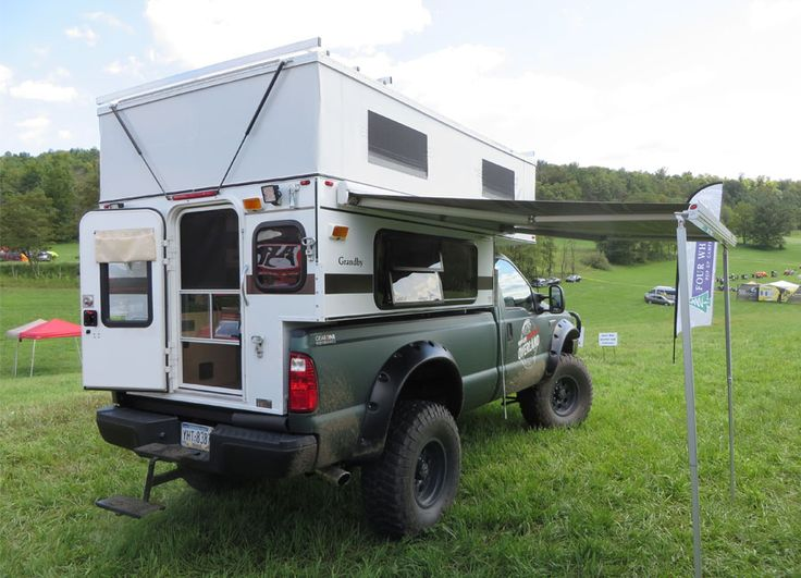 GRANDBY POP-UP (8.0' LONG BED) - Four Wheel Campers   Low Profile, Light Weight, Pop-up Truck Campers