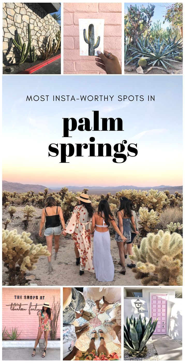 The Most Instagram Worthy Places In Palm Springs Guide Roadtrip